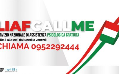 LIAF: ACTIVATED THE NATIONAL FREE NUMBER FOR PSYCHOLOGICAL SUPPORT FOR PEOPLE AFFECTED BY THE COVID-19 EMERGENCY