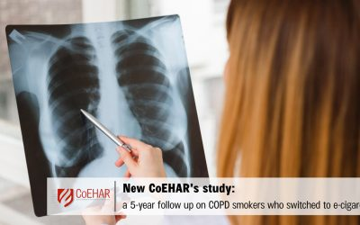 CoEHAR's study confirms beneficial effects of ECIG on COPD smokers